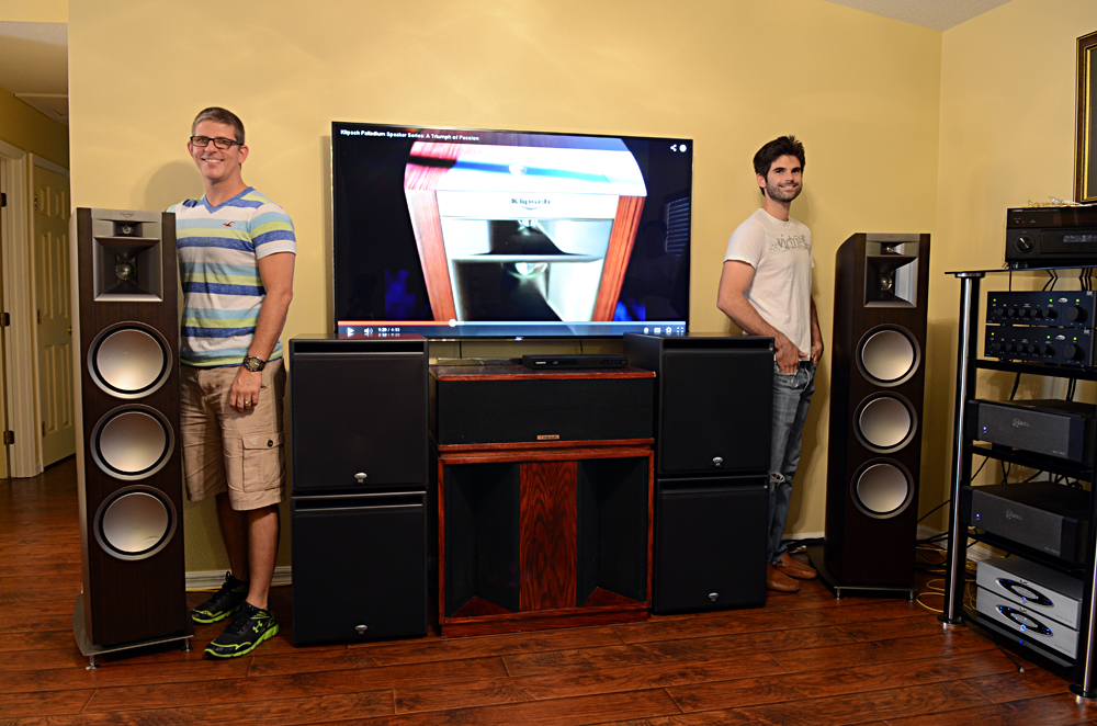 palladium belle with thx ultra2 subs home theater. Black Bedroom Furniture Sets. Home Design Ideas
