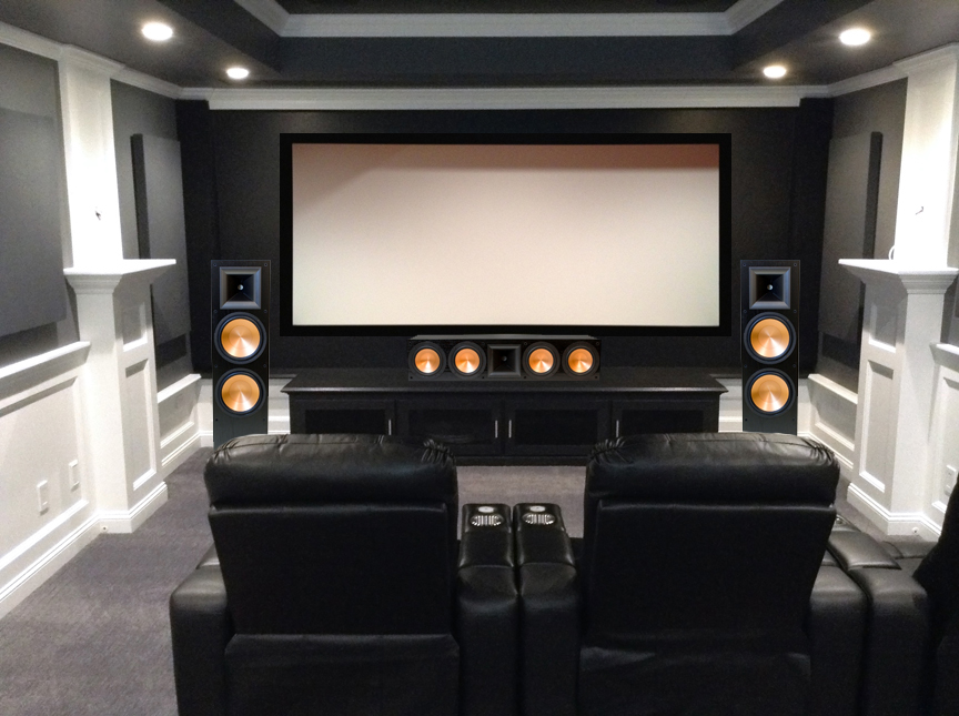 rf7ii black or cherry page 2 home theater the klipsch audio community. Black Bedroom Furniture Sets. Home Design Ideas