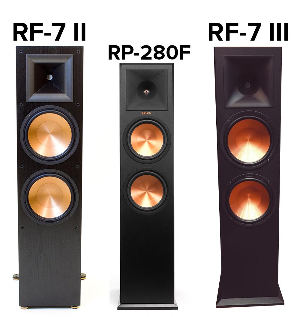 klipsch-rf-7ii-vs-rf-7iii-vs-rp-280f-com