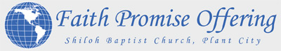 Faith Promise Offering Logo