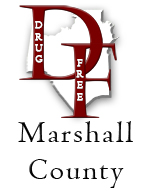 Drug Free Marshall County Logo