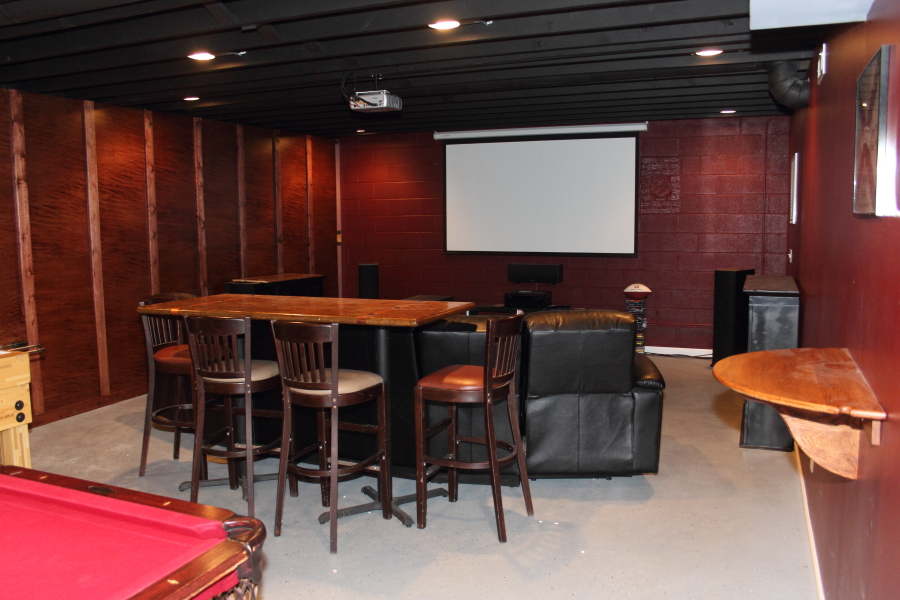 exceptional Using an Unfinished Basement as a Game Room nice ideas