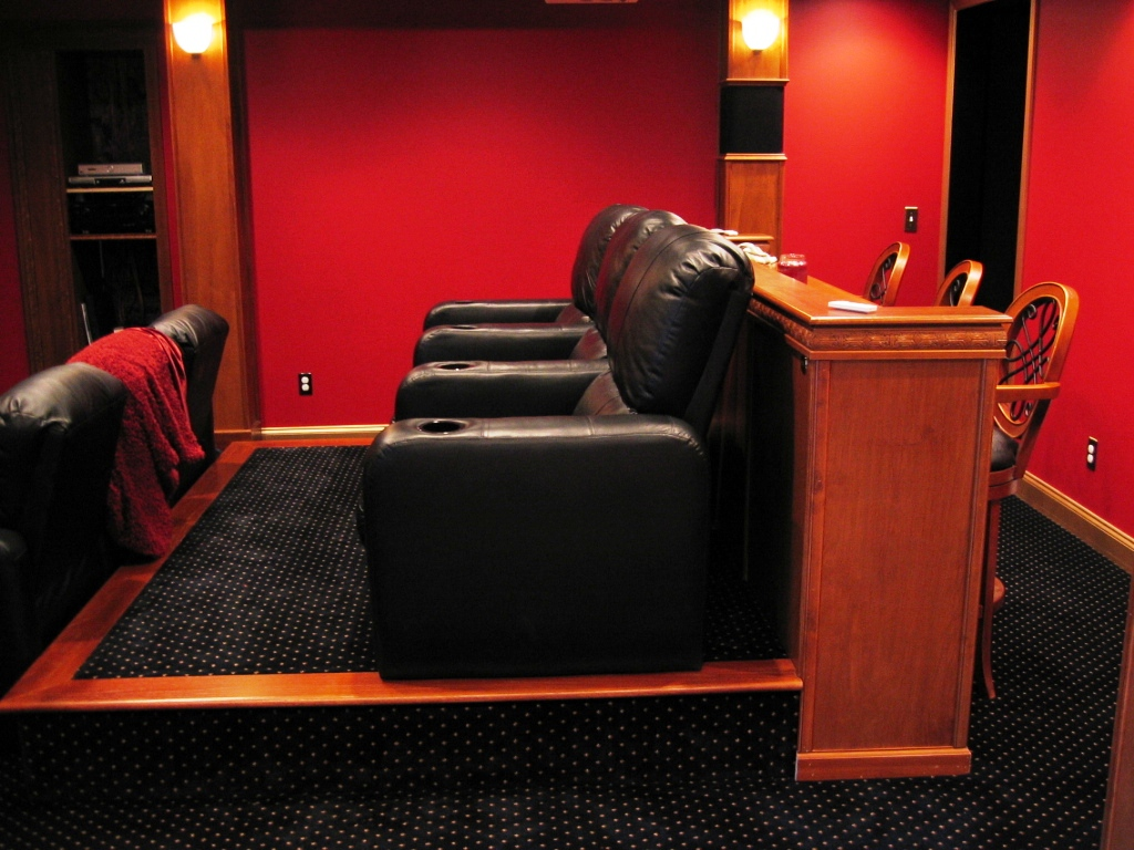 Build Home Theatre Seating Platform